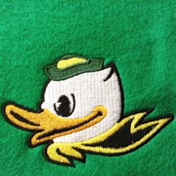 Duck-Logo-Digitizing-for-Embroidery-Sewout