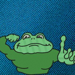 frog-logo-digitizing-for-embroidery